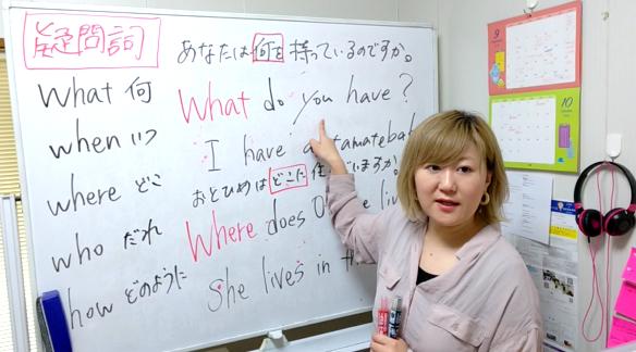 解説授業中のコジ塾講師
