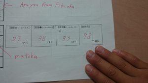 英語の高得点1